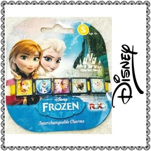 {Disney} FROZEN slide charm bracelet, girls sz S